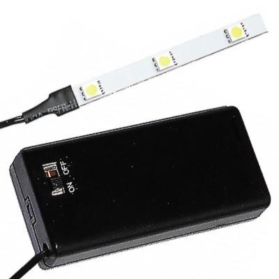 Batteriefach mit LED Streifen 621